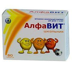 Школяр - вітаміни Алфавіт для дітей 7-14 років