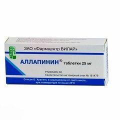 Антиаритмічний препарат Аллапінін