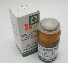 Жовчогінний препарат Аллохол