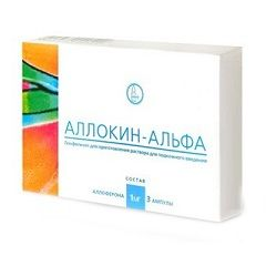 Противірусний засіб Алокін-альфа
