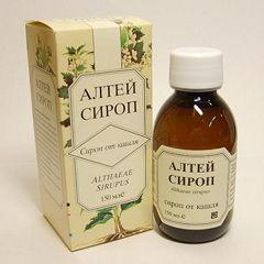 Сироп Алтей - засіб від кашлю на основі лікарського алтея