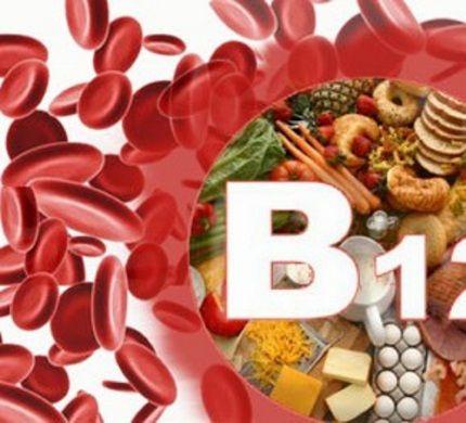 Дефіцит віт B12 - причина анемії