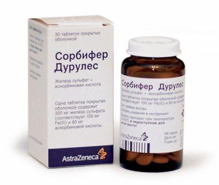 Медикаментозне лікування анемії