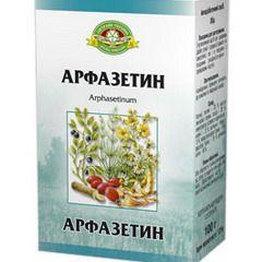 Арфазетин в упаковці