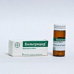 Форма випуску більтріцід - таблетки