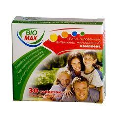 Збалансований мінерально-вітамінний комплекс Біо макс
