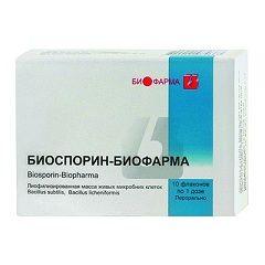 Пробіотичний препарат Биоспорин