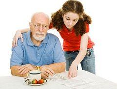 Стареча деменція властива людям старше 65 років