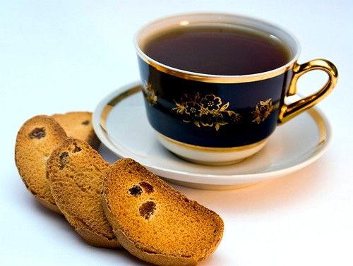 Чай з сухариками