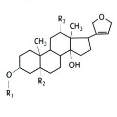 Хімічна формула дигітоксином
