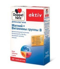 Вітаміни Доппельгерц Актив Маній + вітаміни групи B