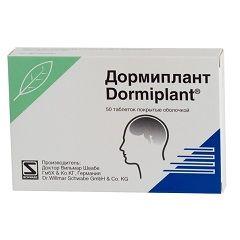 Снодійний препарат Дорміплант