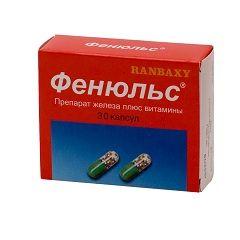 Фенюльс - ліки для лікування анемії