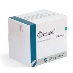 Ноотропний препарат Фезам