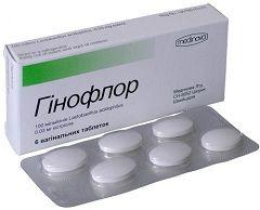 Вагінальні таблетки Гінофлор