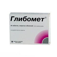 Гипогликемический препарат Глібомет