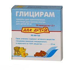 Глицирам для дітей