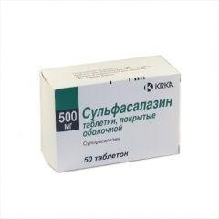 Сульфасалазин - протизапальний препарат для лікування виразкового коліту