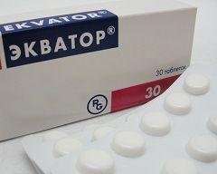 Таблетки Екватор в дозуванні 30 мг