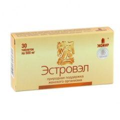 Таблетки Естровел 500 мг