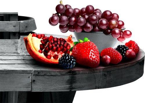 продукти, що знижують холестерин і очищають судини - це ягоди