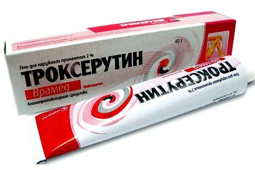 «Троксерутин» використовується для зниження ламкості капілярів, зменшення їх проникності, зниження запалення