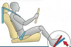 Важливим пунктом для будь-якого водія є правильне положення ніг на педалях