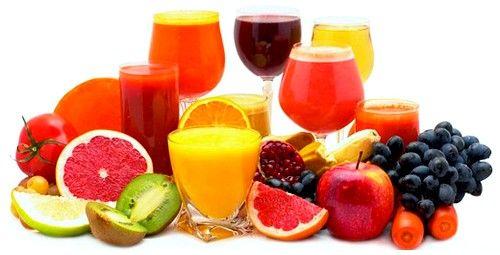 Пити можна соки з овочів і фруктів, різні відвари і компоти