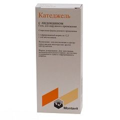 Антисептичний гель Катеджель c лідокаїном