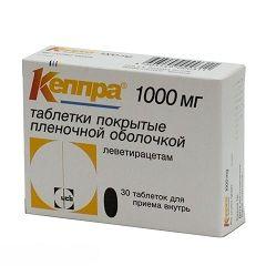 Таблетки Кеппра 1000 мг