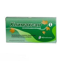 Гомеопатичні таблетки Клімаксан
