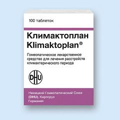 Протівоклімактеріческій препарат Клімактоплан