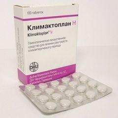 Лікарська форма клімактоплан - таблетки