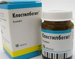 Лікарська форма Клостилбегита - таблетки