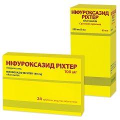 Ніфуроксазид - аналог Леворин