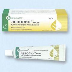 Левосин - мазь для зовнішнього застосування