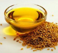Лляна олія - нормалізує обмін речовин продукт