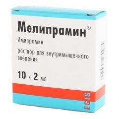 Меліпрамін розчин для ін`єкцій