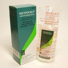 Антибактеріальний розчин Метрогіл