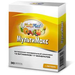 Вітаміни МультіМакс в таблетках