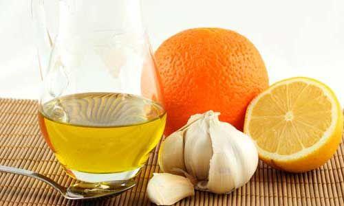 Часник і сік лимона для підвищення імунітету