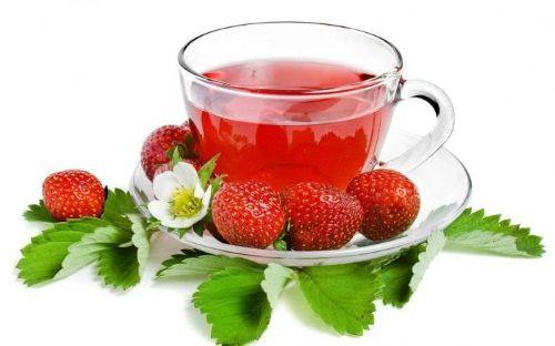 Чай з суниці для підвищення імунітету