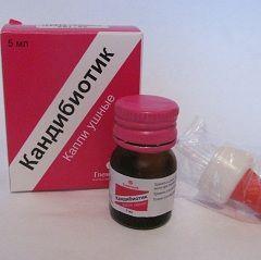 Препарати для лікування зовнішнього отиту