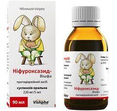 Суспензія Нифуроксазид для дітей