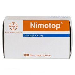 Протиішемічні таблетки Німотоп
