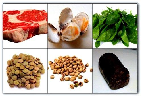 продукти підвищують гемоглобін при вагітності