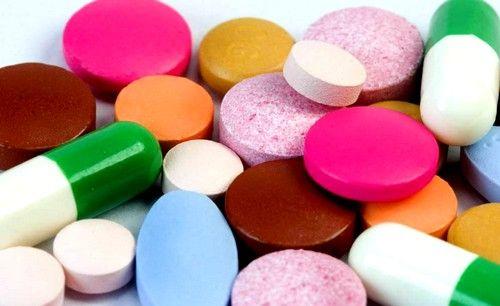 прийом ліків, для підвищення вмісту заліза