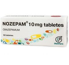 Таблетки Нозепам 10 мг