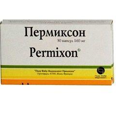 Капсули Пермиксон 160 мг