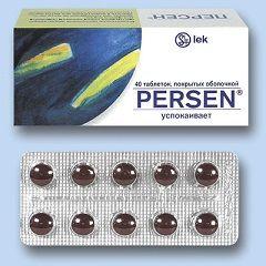 Седативний препарат Персен